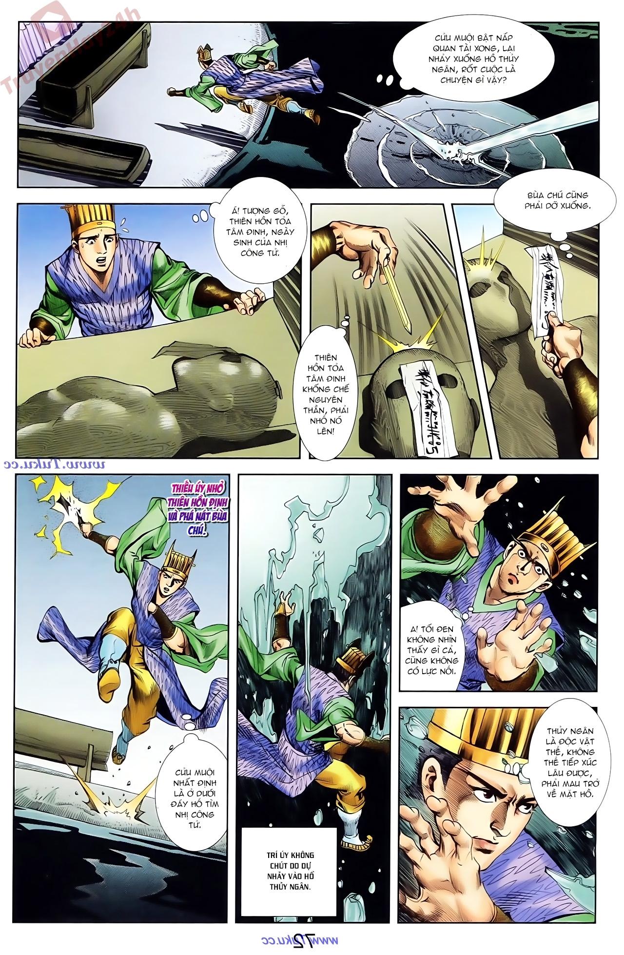 Cơ Phát Khai Chu Bản chapter 81 trang 29