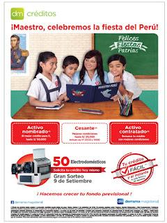 Campaña de Créditos por Fiestas Patrias 2016