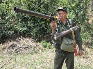 Myanmar Army Weapon