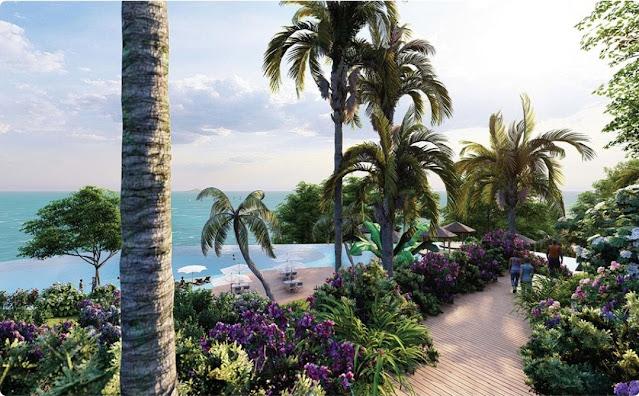 Dự án Sunshine Heritage Mũi Né Hòn Rơm Resort phân khu Indochine