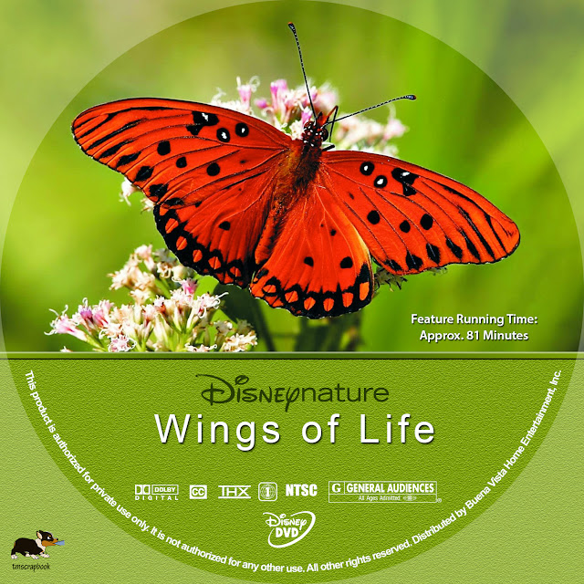 Wings Of Life DVD Label