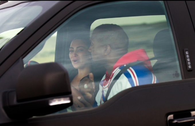Kim Kardashian breaks down in tears as she reunites with Kanye West in Wyoming for marriage crisis talks