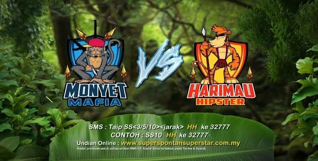 JUARA SUPER SPONTAN SUPERSTAR 2016 !