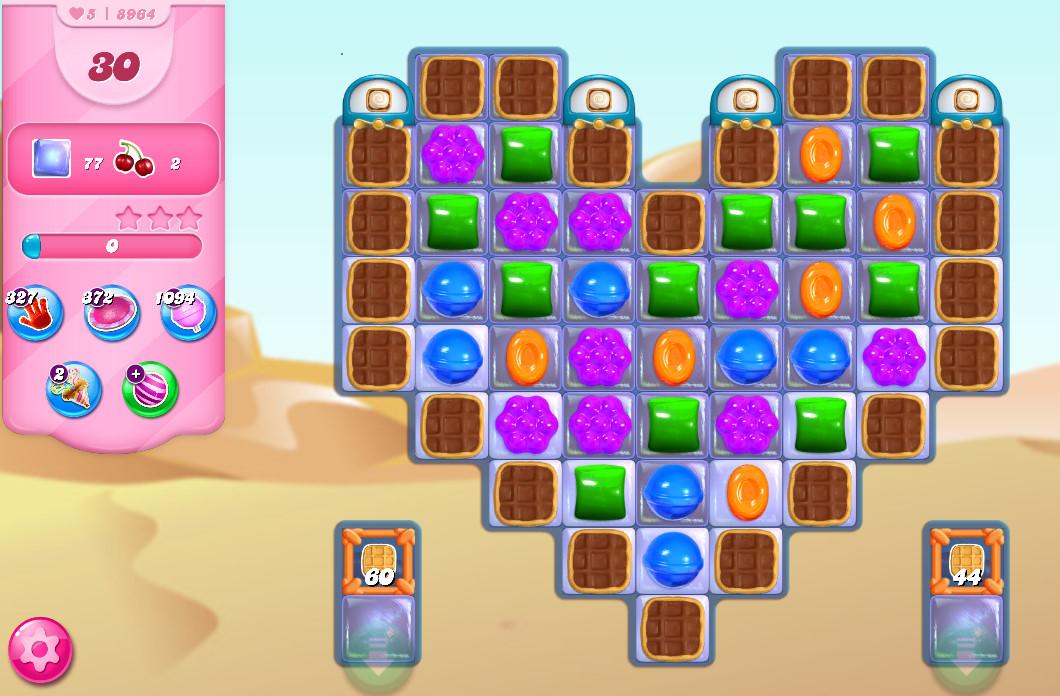 Candy Crush Saga level 8964