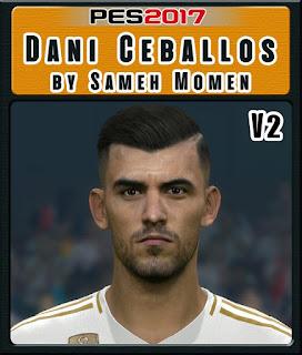 PES 2017 Faces Dani Ceballos by Sameh Momen