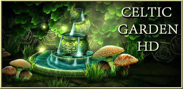 3d Fireflies Live Wallpaper Apk Celtic Garden Hd V1 7 Android Live Wallpaper Apk Download
