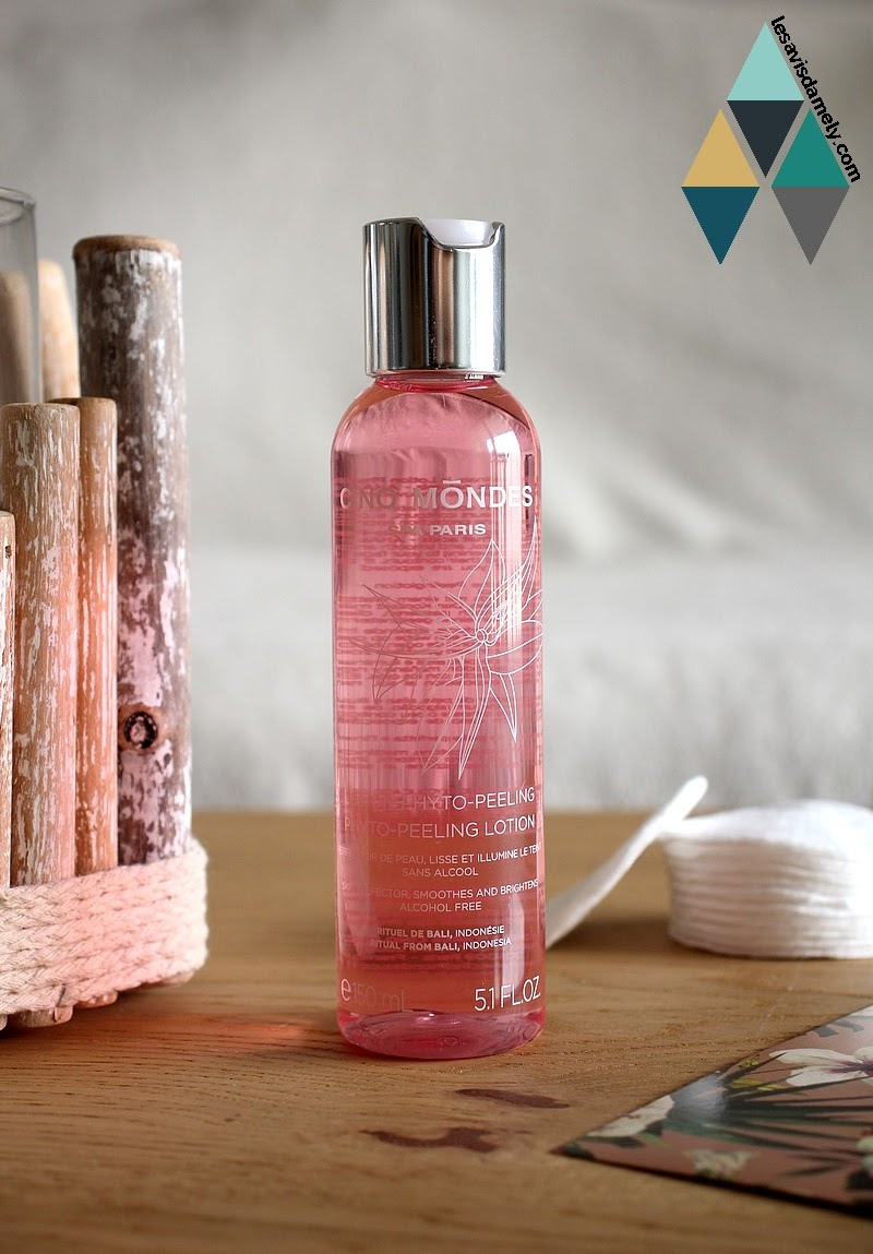 avis et test soin visage purifiant hydratant nettoyant lotion phyto peeling