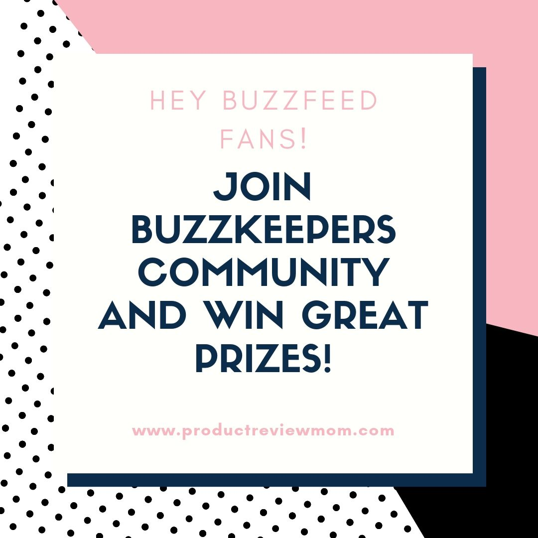 Hey BuzzFeed Fans!  Join BuzzKeepers Community and Win Great Prizes!