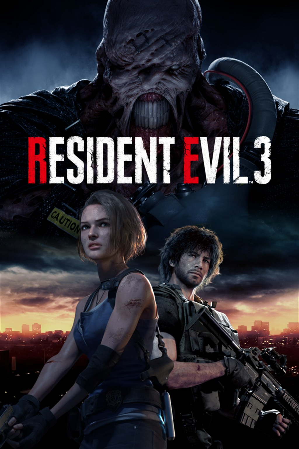 Descargar Resident Evil 3 PC Cover Caratula