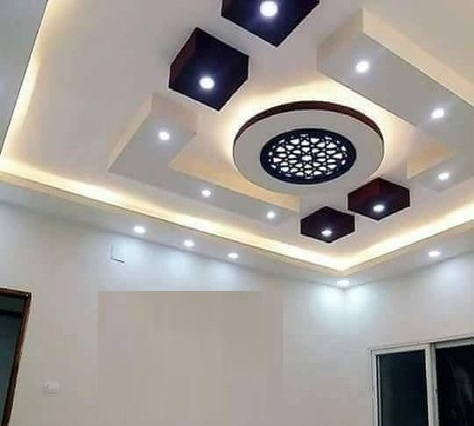 Latest 60 POP false ceiling design catalog with LED lighting ...