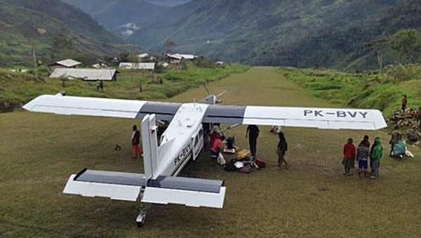 KKB Papua Sandera Pesawat Susi Air karena Tak Dapat Dana Desa