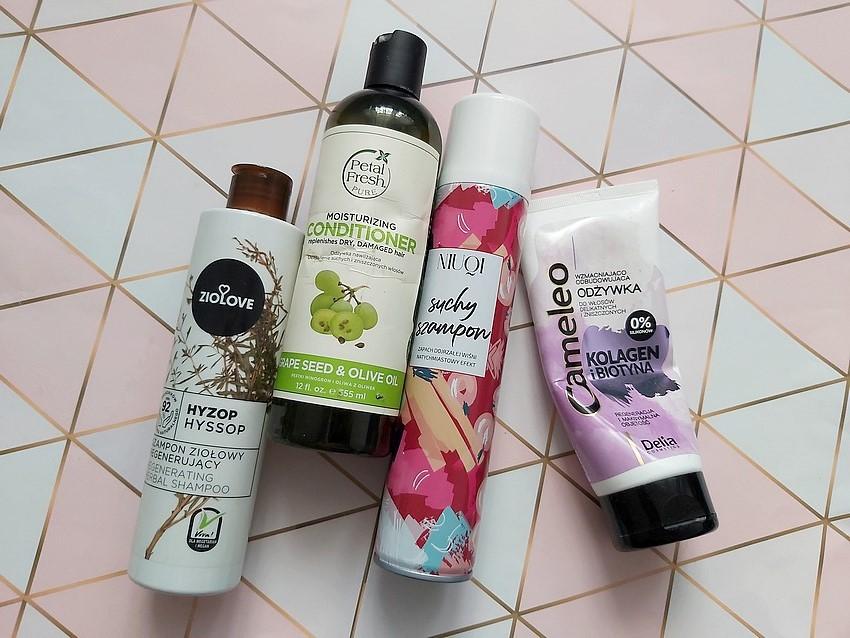 kosmetyczne denko 2021 kosmetyki do włosów