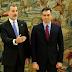 Ortega y Murillo felicitan a Pedro Sánchez elegido presidente del Gobierno español.
