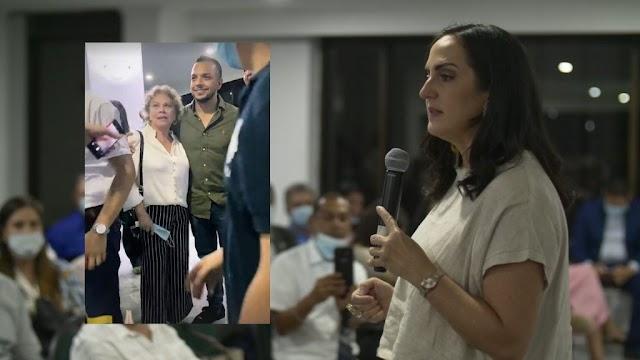 Vídeo. Reunión de María Fernanda Cabal con participación de Andrés Escobar