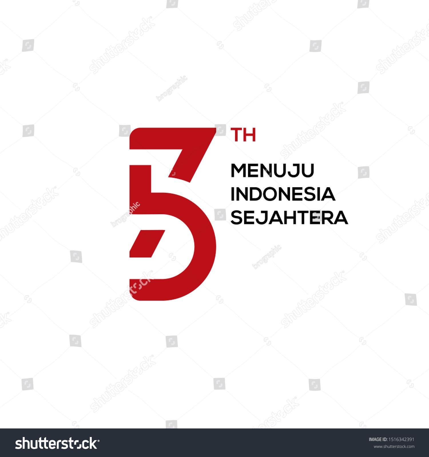 Contoh Logo: Logo HUT RI Ke 75 Hari Kemerdekaan RI Ke 75 Tahun 2020
