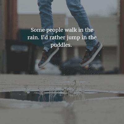 Rain Funny Captions