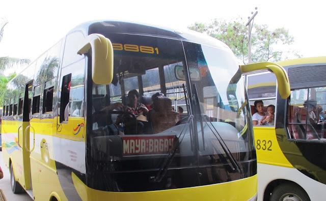 Buceo en Malapascua y otros datos prácticos. Bus a Maya, Malapascua desde Cebu.