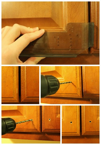 The Junk House: Installing Kitchen Cabinet Hardware