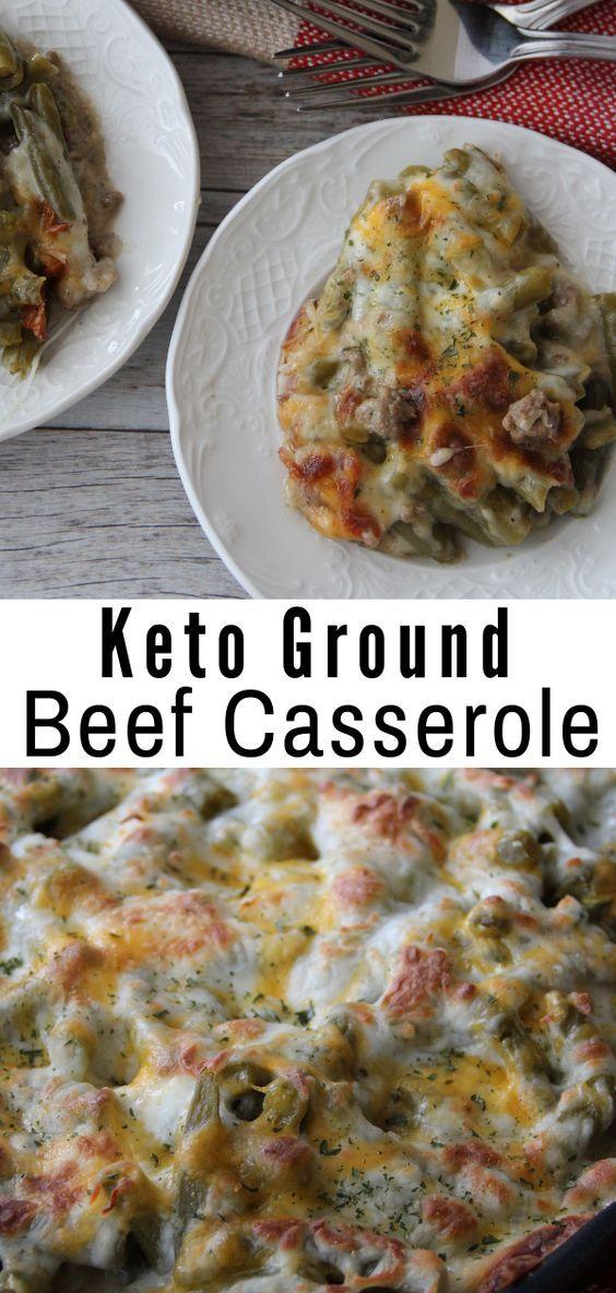 Easy Keto Ground Beef Casserole Recipe