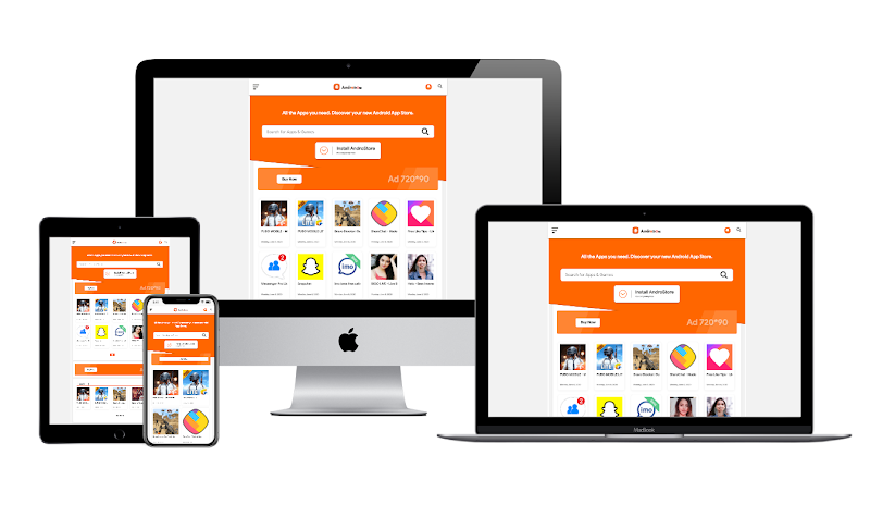 AndroStore Responsive Apk Downloading Blogger Template