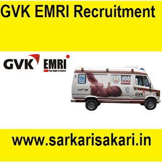 GVK EMRI Assam has released a recruitment notification for posts of EMTs' (Emergency Medical Technician) and Pilots at GVK EMRI- 108 'Mrityunjoy' Ambulance Service. Interested candidates may check the vacancy details and apply online (Email).