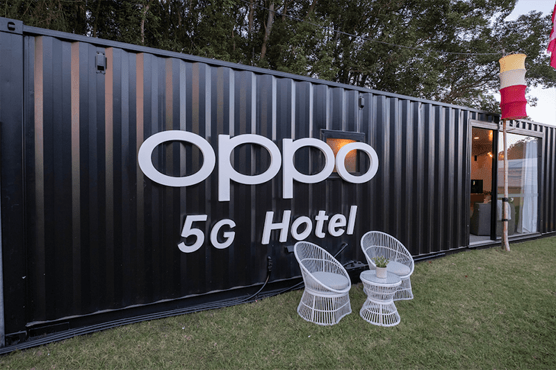 OPPO unleashes a 5G-powered hotel, the first in the world