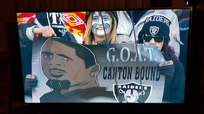 Raiders Banner on TV | Banners.com