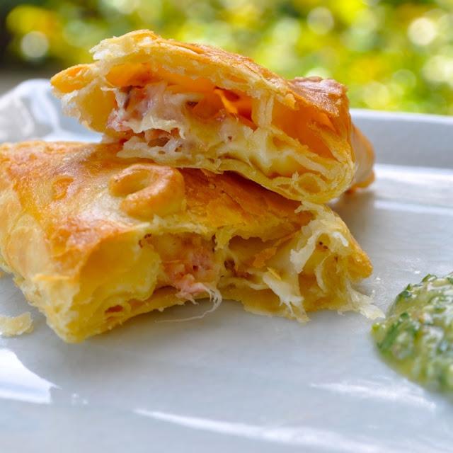 ¿Cómo preparar Empanadas de Jamón y Queso?