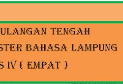 Kd Bahasa Lampung Kelas 10 Semester 1