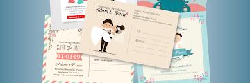Contoh Undangan Pernikahan Unik dan Murah, Menarik, Bermanfaat, Simple, sekaligus Lucu