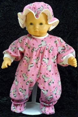 Adorable Doll Clothes And Doll Accessories Bitty Baby Pajamas