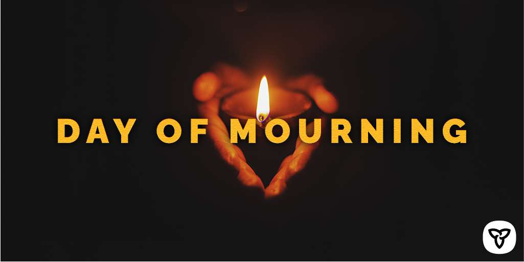 National Day of Mourning Wishes For Facebook