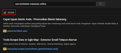 apa itu filter youtube