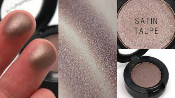 satin taupe mac