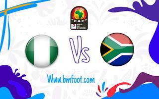 ملخص مباراة نيجيريا ضد جنوب افريقيا مباشرة في ربع نهائي كأس أمم افريقيا 2019