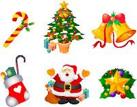 vetores natalinos gratis