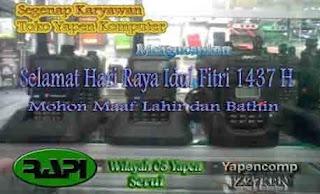 Daftar Call Sign RAPI Gelombang II 2015-2016 Wilayah 08 Yapen Serui
