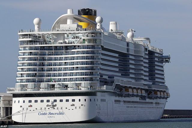CORONA PLAGUE: SHIP WITH 7,000 ON BOARD QUARANTINED IN ITALY