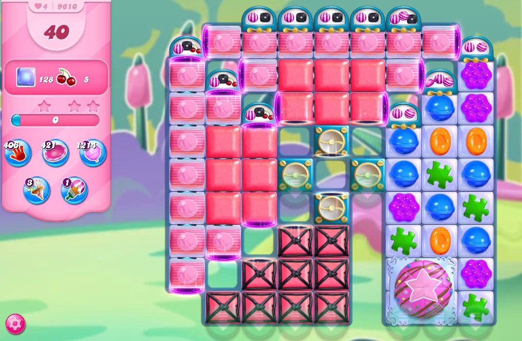 Candy Crush Saga level 9610
