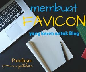 cara membuat favicon yang keren untuk blog