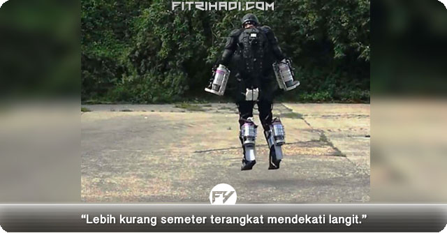 Bagaimana Lelaki Ini Berjaya Cipta Sut Terbang Iron Man