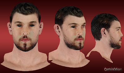 NBA 2K13 Marc Gasol Cyberface Mod