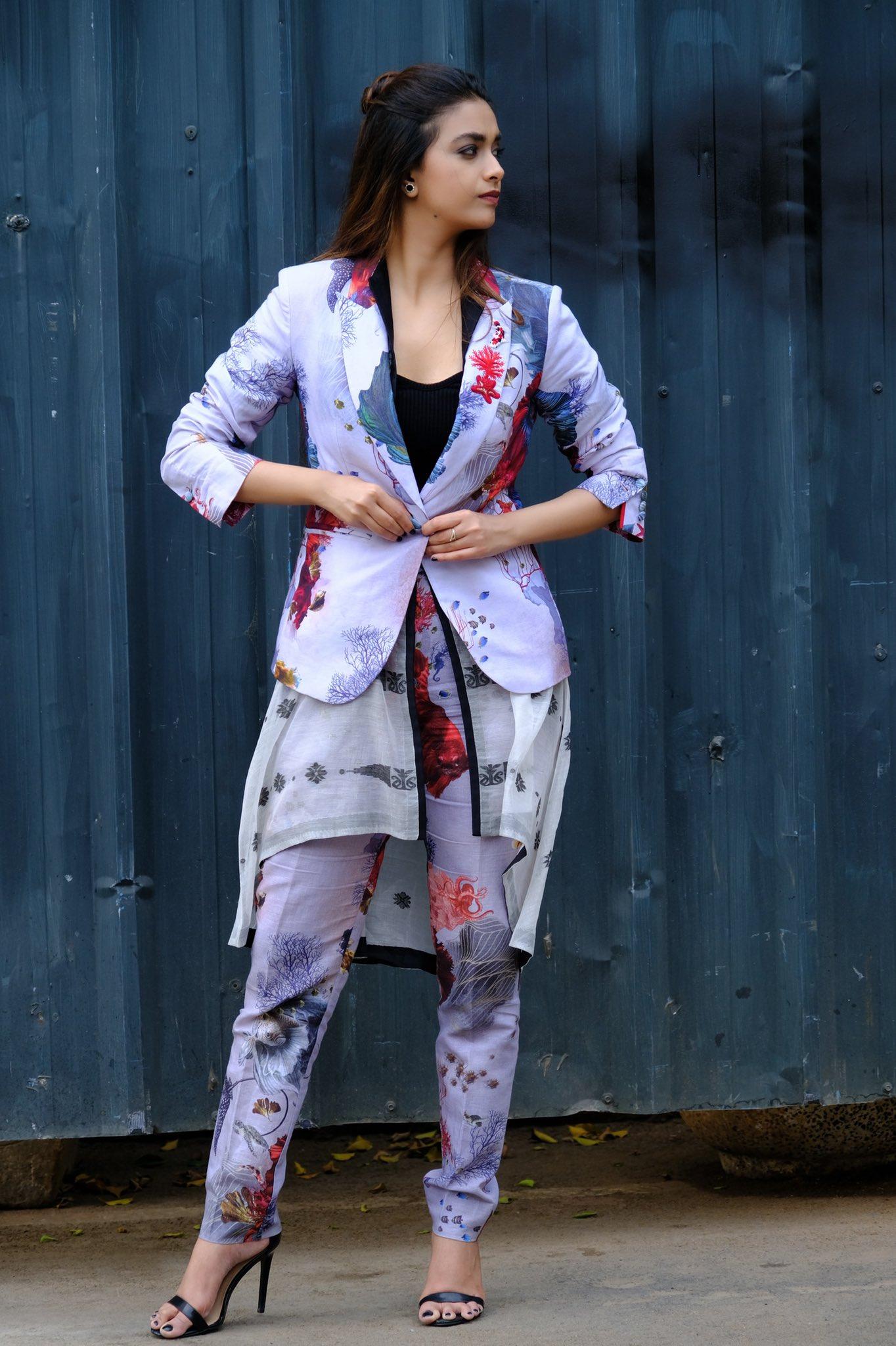 Actress Keerthy Suresh Latest Photos Stills