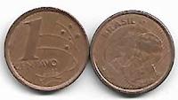 1 centavo, R$ 0,01