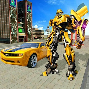 Real Robot Car Transformer War | 55 MB