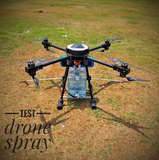 drone spray