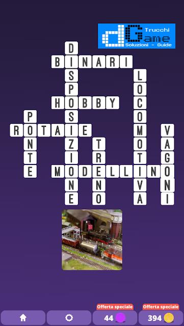 Soluzioni One Clue Crossword livello 26 schemi 2 (Cruciverba illustrato)  | Parole e foto