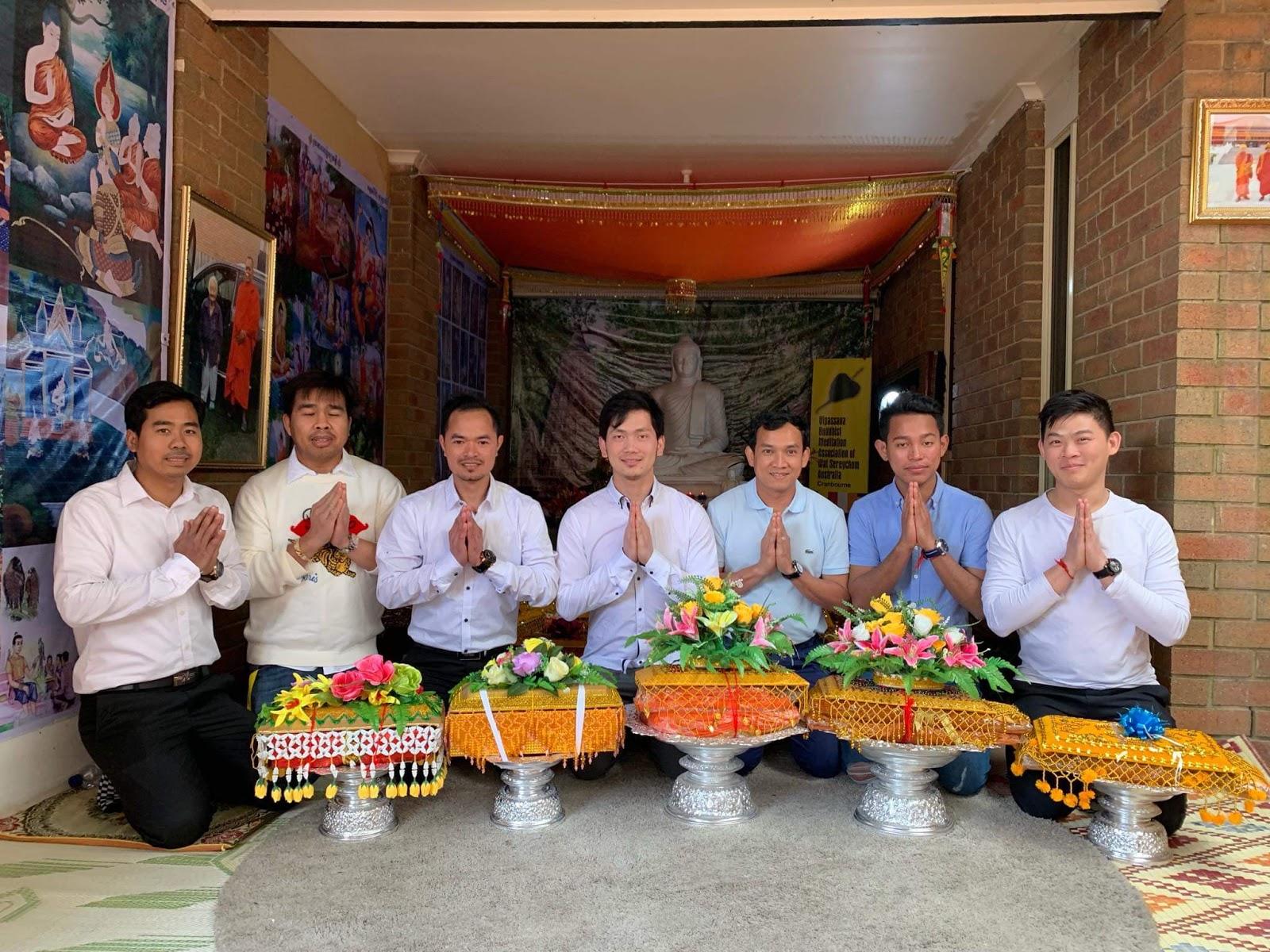 Kathina Dana of Wat Sereychum, 27 Oct. 2019