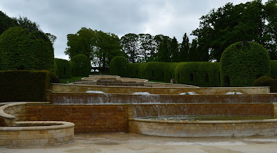Alnwick Garden Grand Cascade fountains