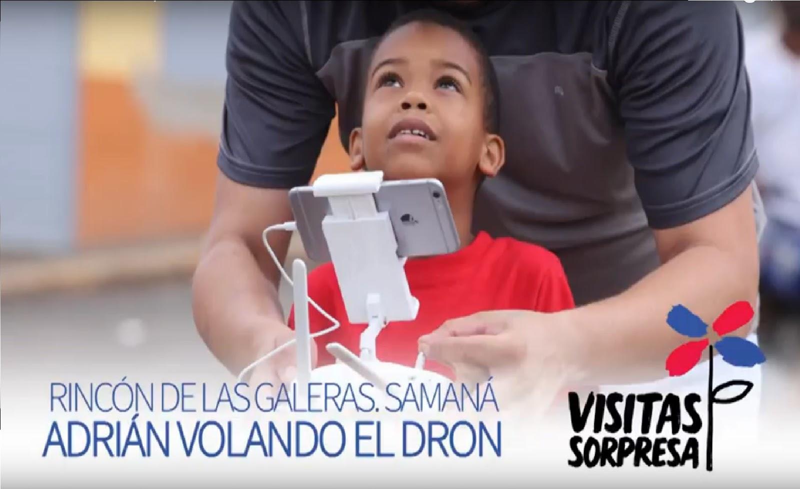 VIDEO: Rincón de Las Galeras, Samaná. Adrián volando el dron